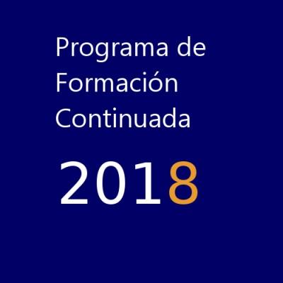 Programa de Formación Continuada de AEFA 2018