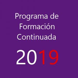 Programa de Formación Continuada de AEFA 2019