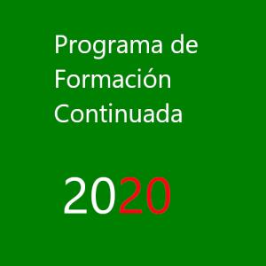 Programa de Formación Continuada de AEFA 2020