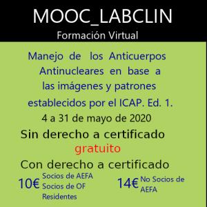 MOOC-LABCLIN-11-Ed-1-MANEJO DE LOS ANTICUERPOS ANTINUCLEARES EN BASE A LAS IMÁGENES Y PATRONES ESTABLECIDOS POR EL ICAP.