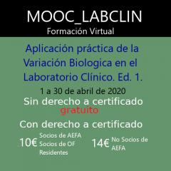 MOOC-LABCLIN-10-Ed-1-APLICACIÓN PRÁCTICA DE LA VARIACIÓN BIOLÓGICA (VB) EN EL LABORATORIO CLÍNICO.