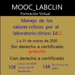 MOOC-LABCLIN-03- Ed-2-MANEJO DE LOS VALORES CRÍTICOS POR EL LABORATORIO CLÍNICO.