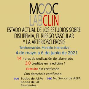 MOOC_LABCLIN_#09. Ed 2. Estado actual de los estudios sobre dislipemia, el riesgo vascular y la arteriosclerosis.
